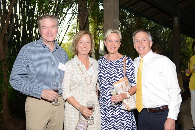 51 David and Nancy Pustka, from left, Diane Ledder and Rick Barongi at the Houston Zoo Asante Society dinner April 2014