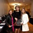 Danielle Nassar, from left, Amal Nassar and Natalia Nassar at the Houston Tennis Association Gala February 2014