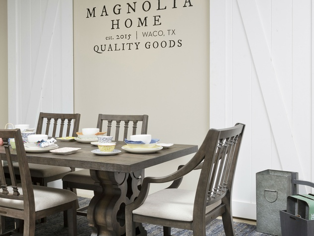 Magnolia Home furniture collection. HGTV star offers Fixer Upper style with new furniture collection