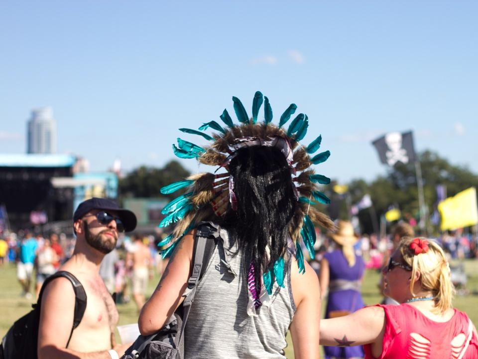 Austin City Limits ACL 2014 Fashion Style Native American Headdress
