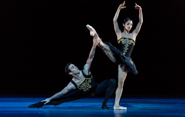 Houston Ballet From Houston to the World September 2014 Karina Gonzalez and Connor Walsh and Karina Gonzalez in ONE/end/ONE