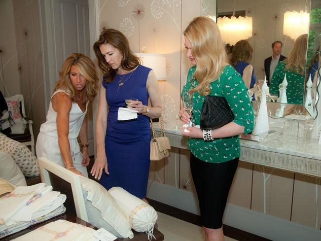 Tribute Goods party, April 2014, Maria Groten, Melissa Adams, Deanna Altenhoff