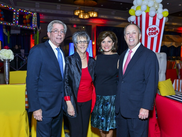 6 Fred and Kay Zeidman, from left, and Lori and Dan Wolterman at Memorial Hermann's Under the Stars Gala November 2013