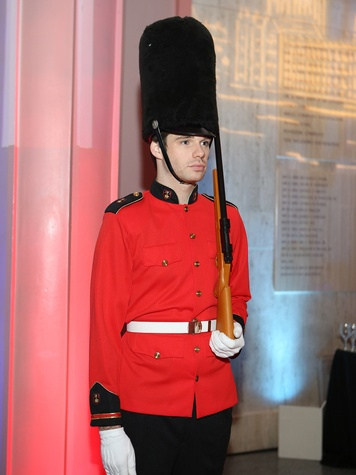 Royal Guard member at Houston Museum of Natural Science Gala March 2014