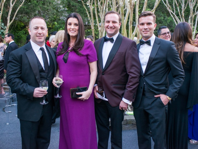 Van Cleef & Arpels party, April 2016, Dylan Seff, Jordan Seff, Tony Gibson, J.D. Adamson