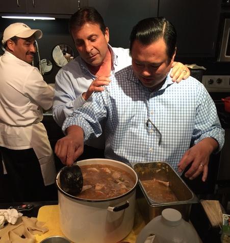 Johnny Carrabba cookbook, 5/2016