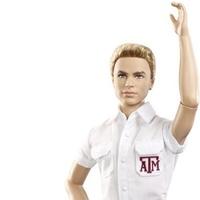 Mattel new Texas A&M Ken doll as yell leader September 2013