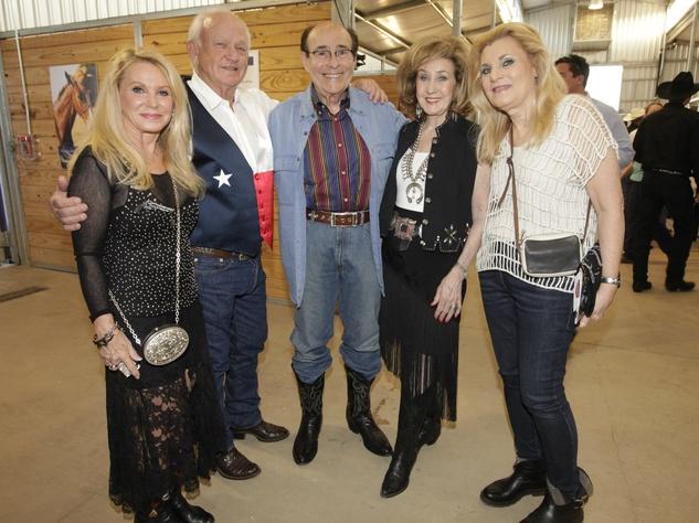 Betsy Crousen, Guinn Crousen, Robert Potter, Doris Jacobs, Mary Potter, Equest Triple Crown Gala