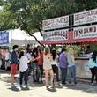 Food vendors at Cottonwood Art Festival