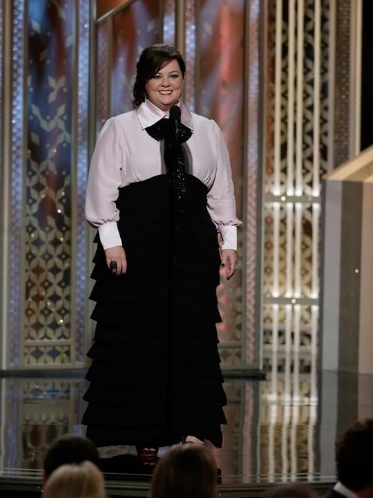 106 Melissa McCarthy Golden Globes fashion January 2015