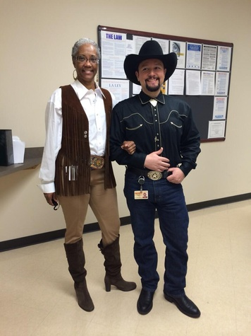 Go Texan Day February 2014 HCC employees
