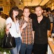Bethany Burke, Micah Burke, Scott Campbell at Steven Alan store opening in Dallas