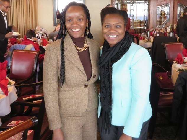 Afi Lowery, Earsa Jackson, Promise House Donor Luncheon