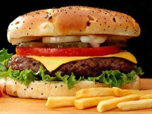 Harvey G's burger