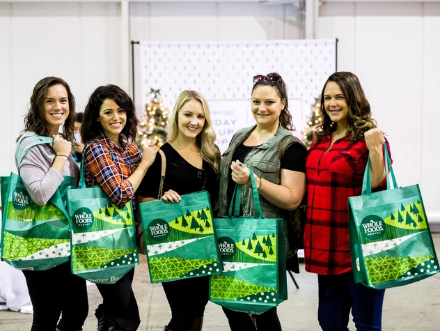 Houston, CultureMap Holiday Pop-Up Shop, November 2017, Kate Cammarata, Rachel Tillman, Kristina Anderson, Jennifer Anderson, Amber Bradley
