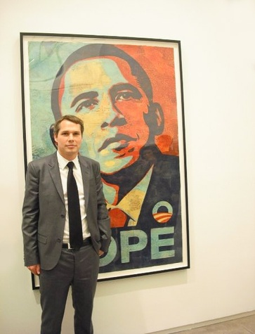 News_Shepard Fairey_Obama Hope poster_Institute of Contemporary Art in Boston