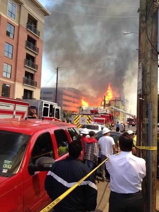 8 Montrose fire March 2014