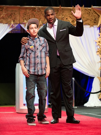 DeMarco Murray and Bruno Lins De Almeida, childrens cancer fund luncheon