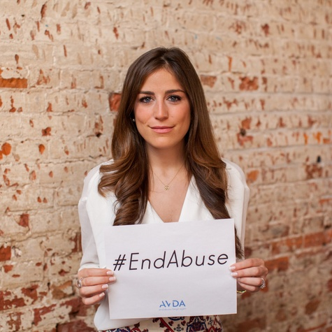 Laura Max The Light Files End Abuse campaign AVDA
