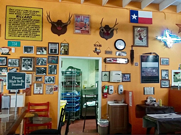 Timbo's Burgers San Antonio interior