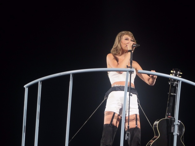 Taylor Swift concert at Minute Maid Park