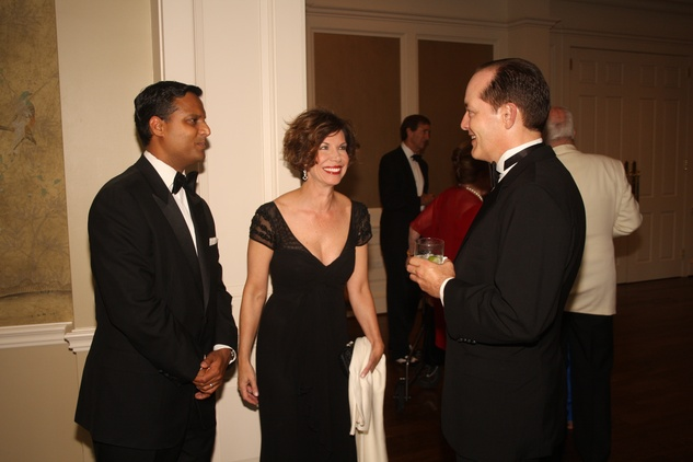 News, Shelby, Joanne King Herring Dinner Party, Dr. Aashish Shah, Roseanne Rogers, Geoff Connor, July 2014