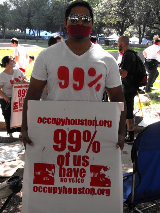 Occupy_Houston_Silent_Protest_Douglas_Burgos