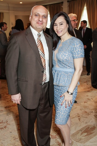 Nabil and Rita Joubran at the MS Society luncheon March 2015