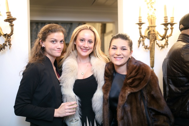 94 Teresa Munisteri, from left, Erica Rose and Sequoia DiAngelo at the Baanou Grand Opening Party November 2014