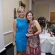 Jill Holstead, left, and  Katherine Jones at the Small Steps Nurture & Nourish Luncheon September 2014