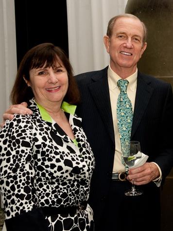 News_MFAH Turrell dinner_May 2012_Leslie Bucher_Brad Bucher