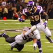 Adrian Peterson running