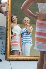 CultureMap Social at Lucky Shot Magic Mirror photo booth