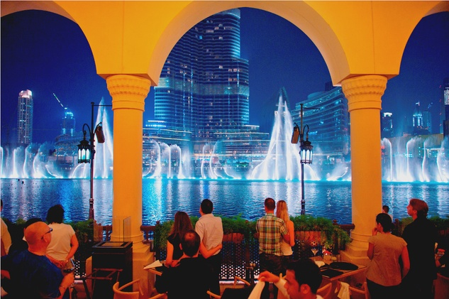 News, Shelby, Dubai fountain, January 2015