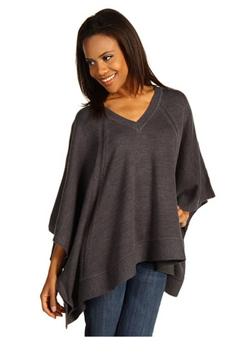 6pm Anne Klein V-Neck Poncho