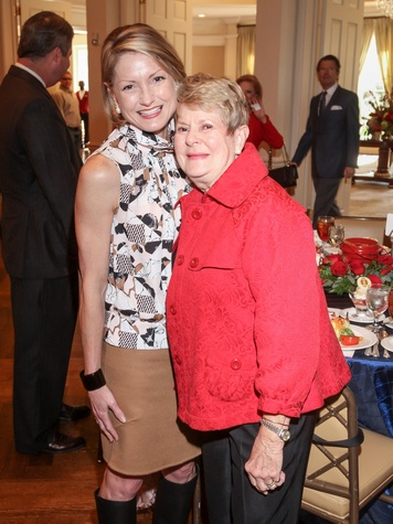 Houston, Salvation Army annual luncheon, Nov 2016, Bridget Wade, Penny Butler