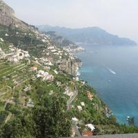 1 Jane Howze Italy trip Amalfi Coast hotel September 2014 View from Monastero Santa Rosa on Amalfi Coast