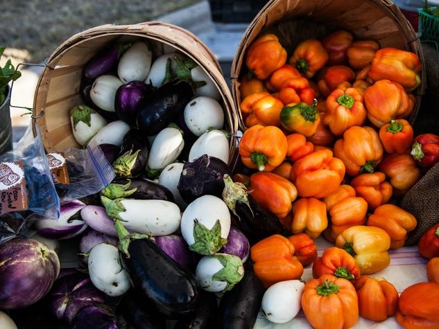 EggplantsPeppers