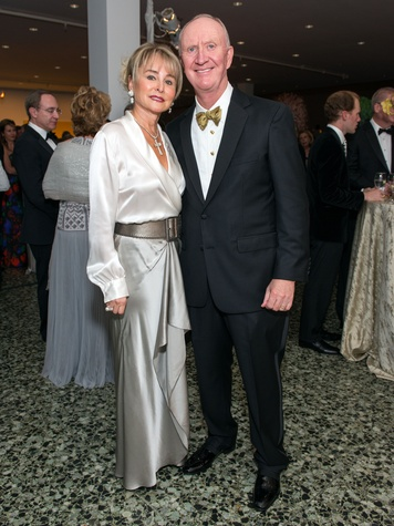 20 Michelle and Frank Hevrdejs at the MFAH Grand Gala October 2014