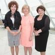 Sarah Losinger, Christie Carter, Fredye Factor, FWC Luncheon