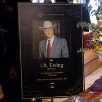 J.R. Ewing memorial