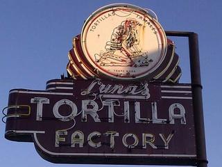 Luna's tortilla factory