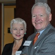 Kris Thomas, Neil Thomas at Hobby Center for Public Policy lunch