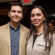 0264 Esteban Lartigue and Mirna Sanchez at Houston Friends of Chamber Music Red Violin event March 2014