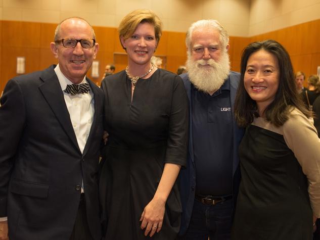 Private Reception Honoring James Turrell Hiram Butler; Andrée Bober; James & Kyung Turrel