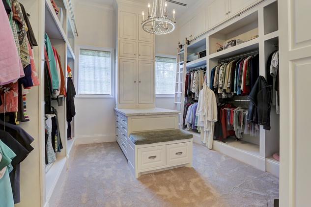 Houston, Buckingham 527, June 2015, Master closet for her