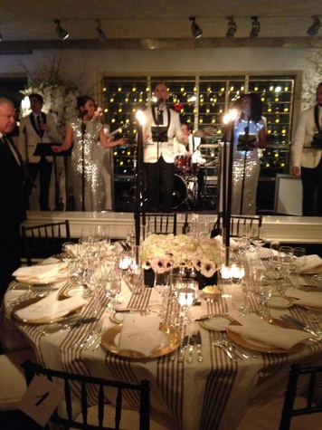 Band at Todd Fiscus and Ceron's New York wedding