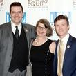 50 Actors' Equity Fund anniversary event September 2013 Seán Patrick Judge, Rebecca Greene Udden, Joel Sandel