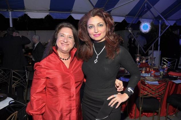 News, Cheers 4 Charity, Nov. 2015, Deborah Colton, Mahzad Mohajer