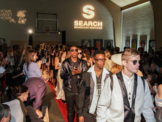 The models at the SEARCH fashion event March 2014